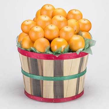 2 Peck Basket - Navel Oranges