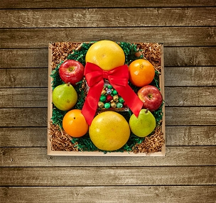 Mini Fruit Wreath