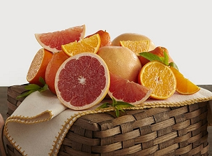 Honeybell Oranges & Ruby Red Grapefruit