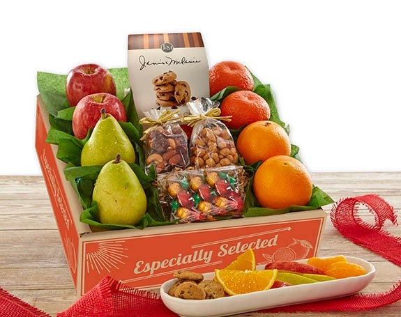 Fruit and Snacks  Gift Box
